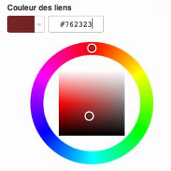 Contrôle des couleurs
